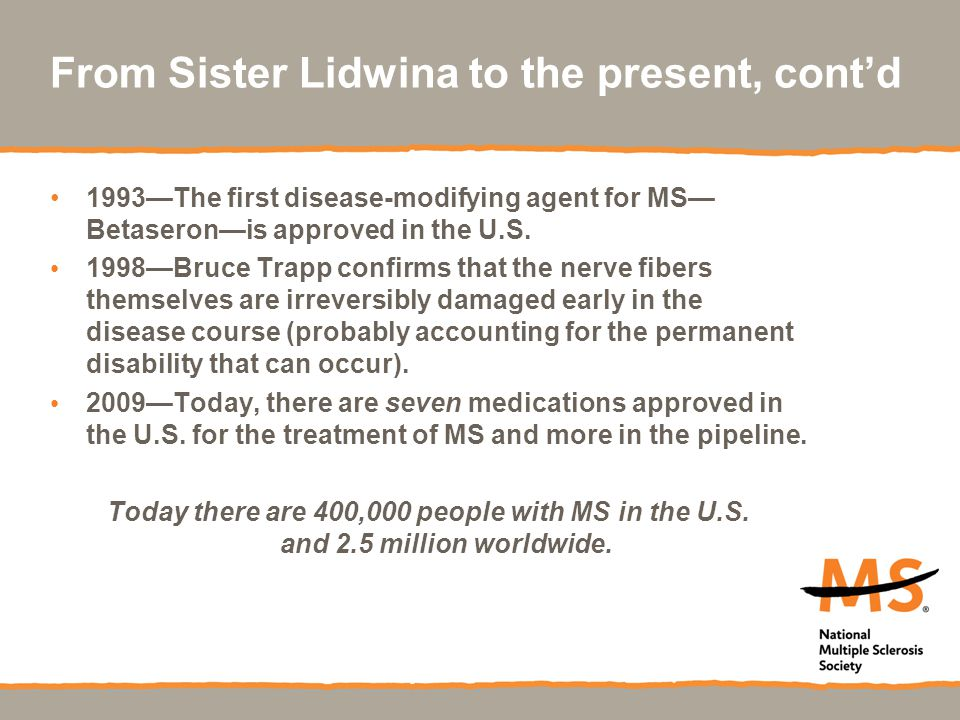From Sister Lidwina to the present, cont'd