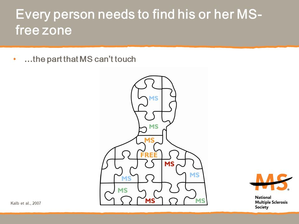 Every person needs to find his or her MS-free zone