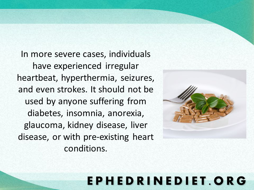 In more severe cases, individuals have experienced irregular heartbeat, hyperthermia, seizures, and even strokes.