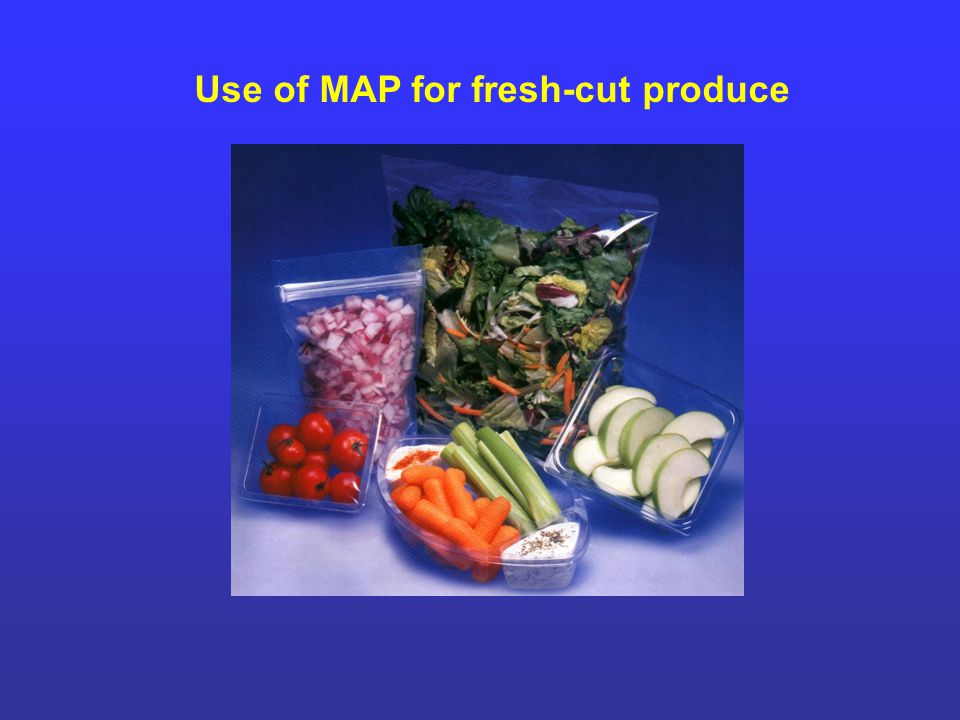 Use of MAP for fresh-cut produce