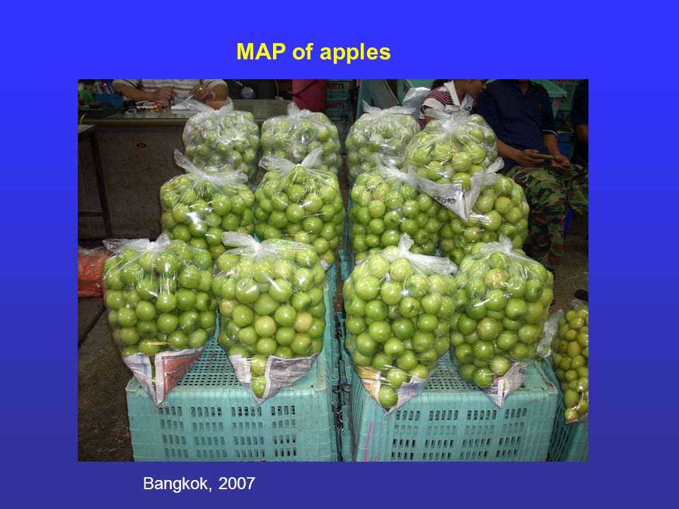 MAP of apples Bangkok, 2007