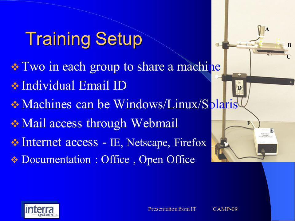 Presentation from IT CAMP-09
