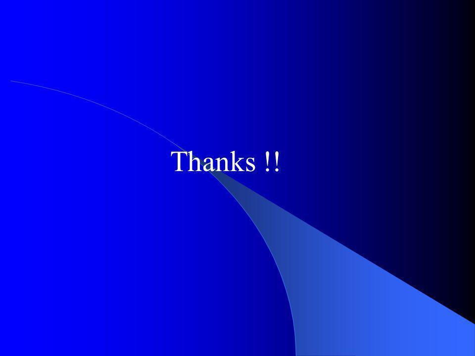 Thanks !!