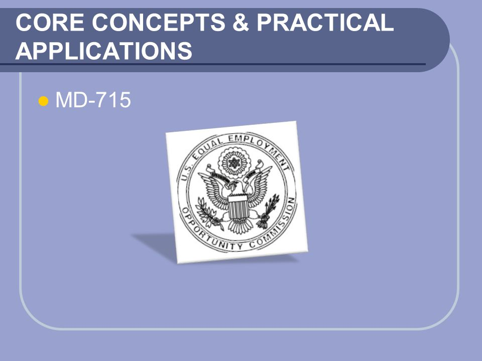 CORE CONCEPTS & PRACTICAL APPLICATIONS