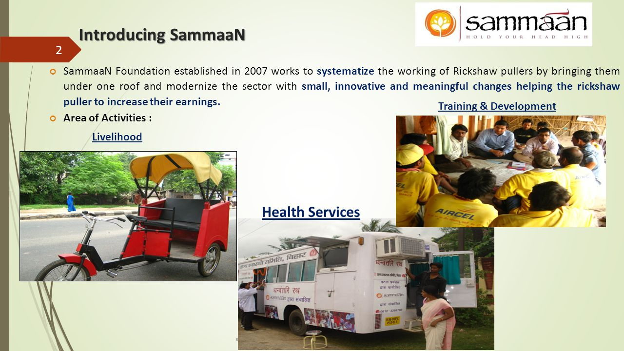 Introducing SammaaN Health Services