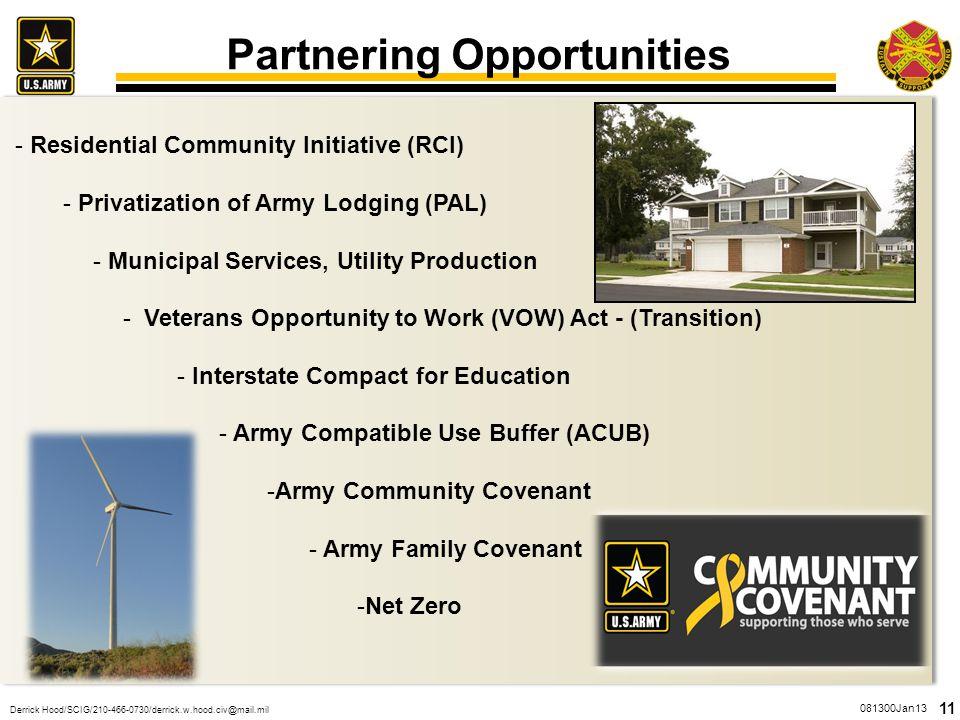 Partnering Opportunities