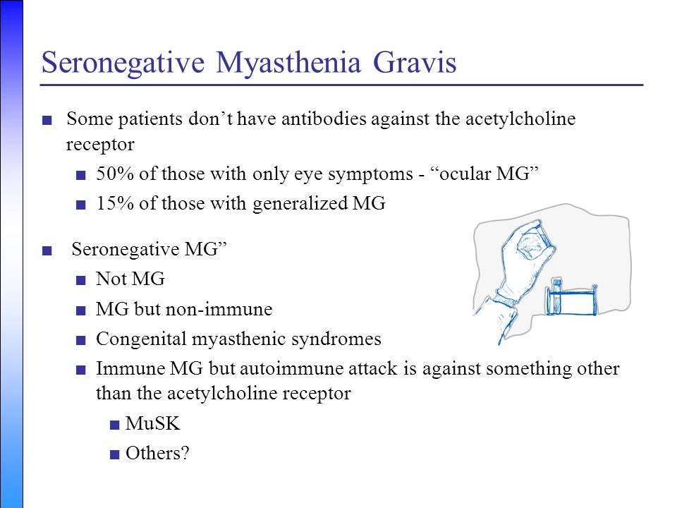Seronegative Myasthenia Gravis