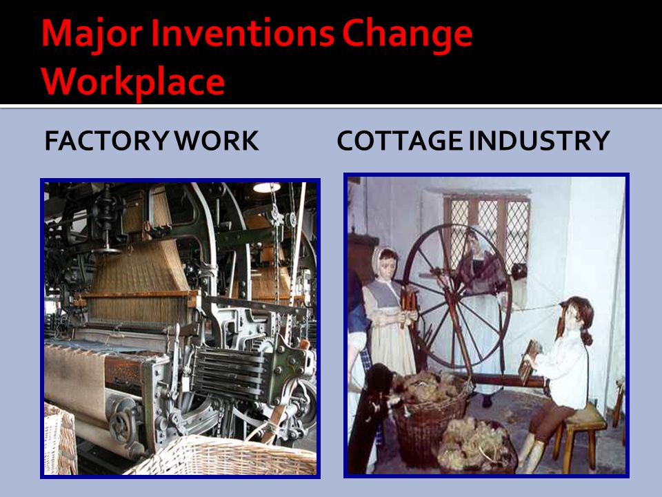 Major Inventions Change Workplace