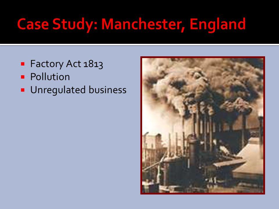 Case Study: Manchester, England