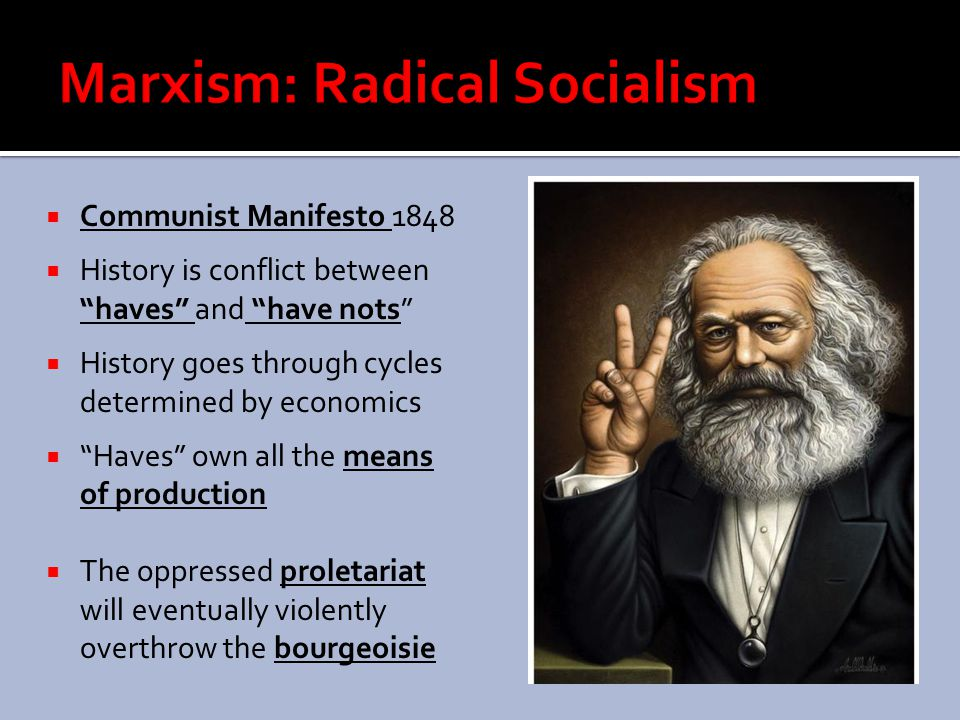Marxism: Radical Socialism