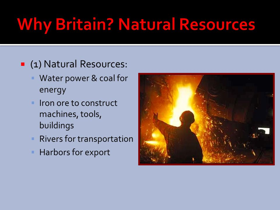 Why Britain Natural Resources