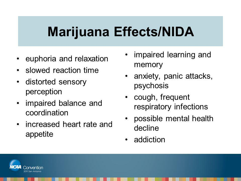 Marijuana Effects/NIDA