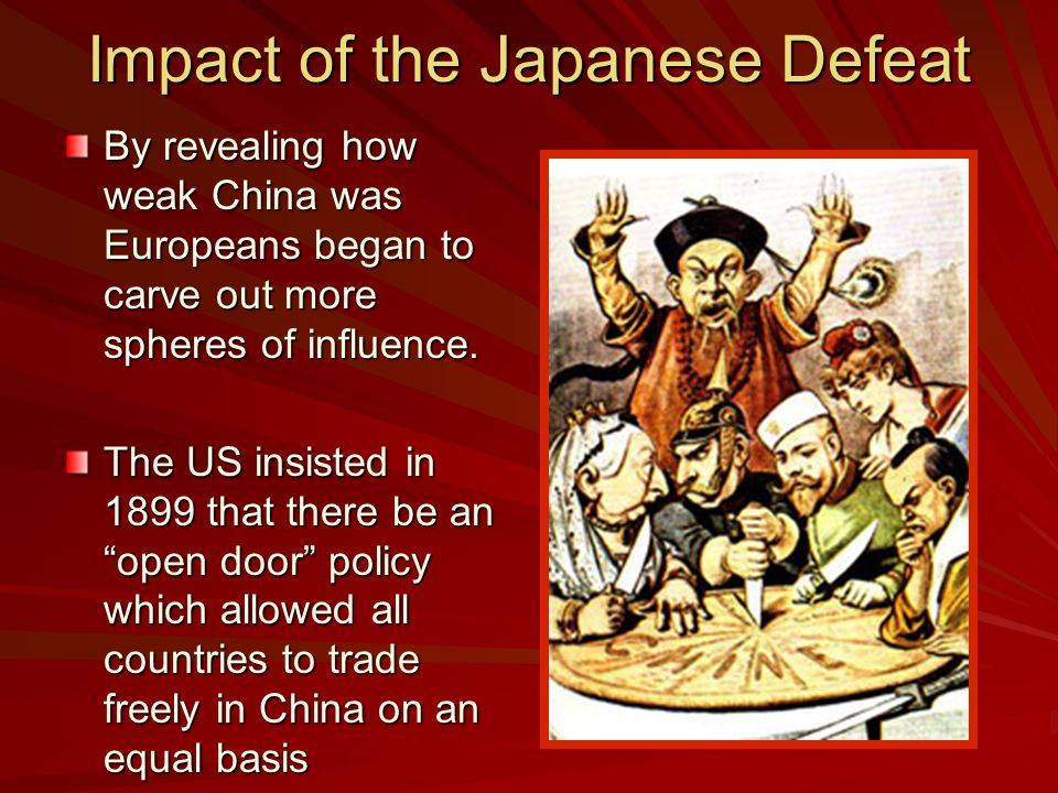 Impact of the Japanese Defeat
