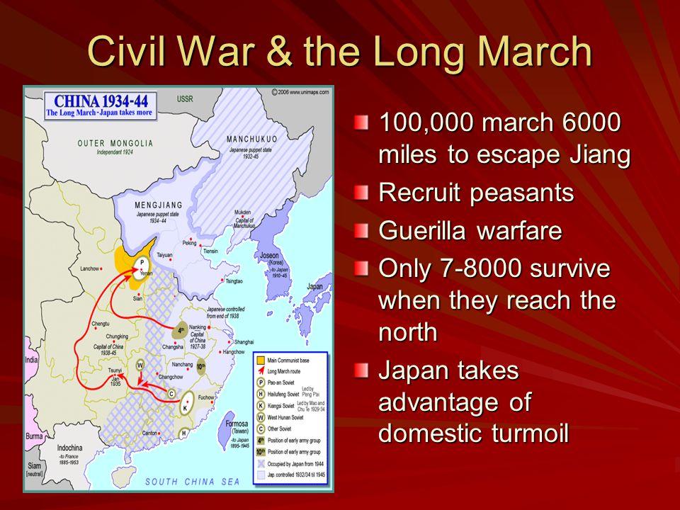 Civil War & the Long March