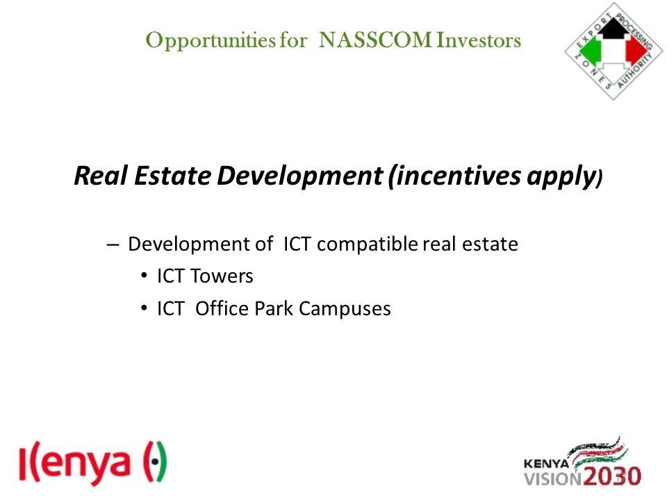 Opportunities for NASSCOM Investors