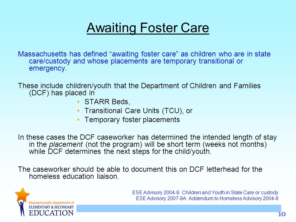 Awaiting Foster Care