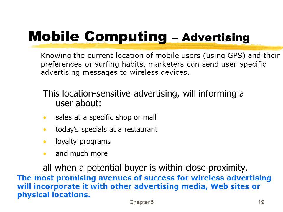 Mobile Computing – Advertising