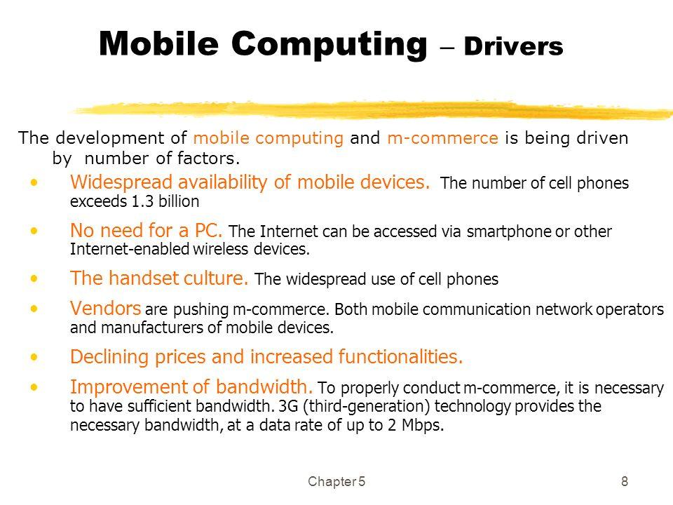 Mobile Computing – Drivers