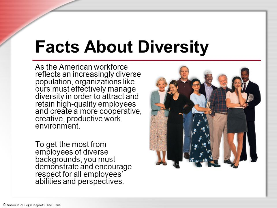 Facts About Diversity