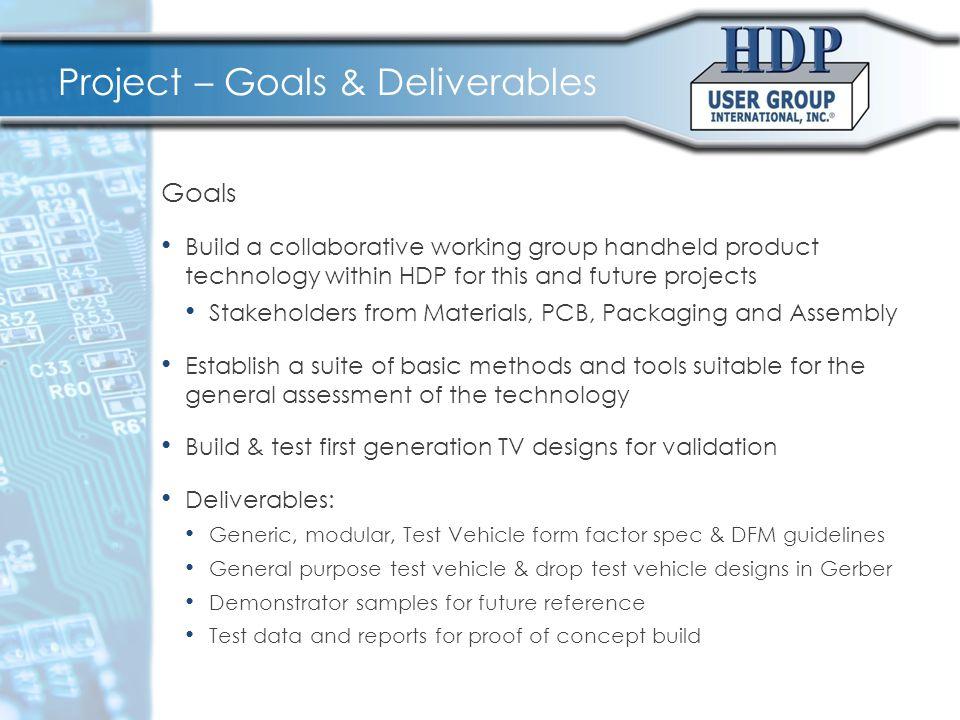Project – TV Design Goals