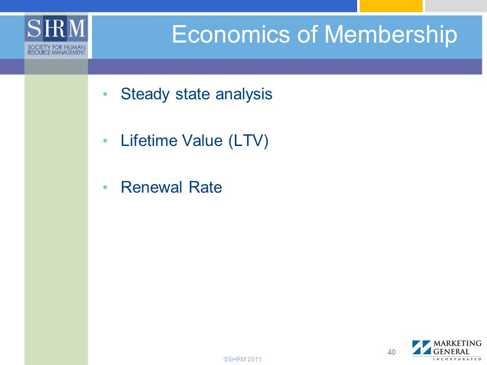 Economics of Membership