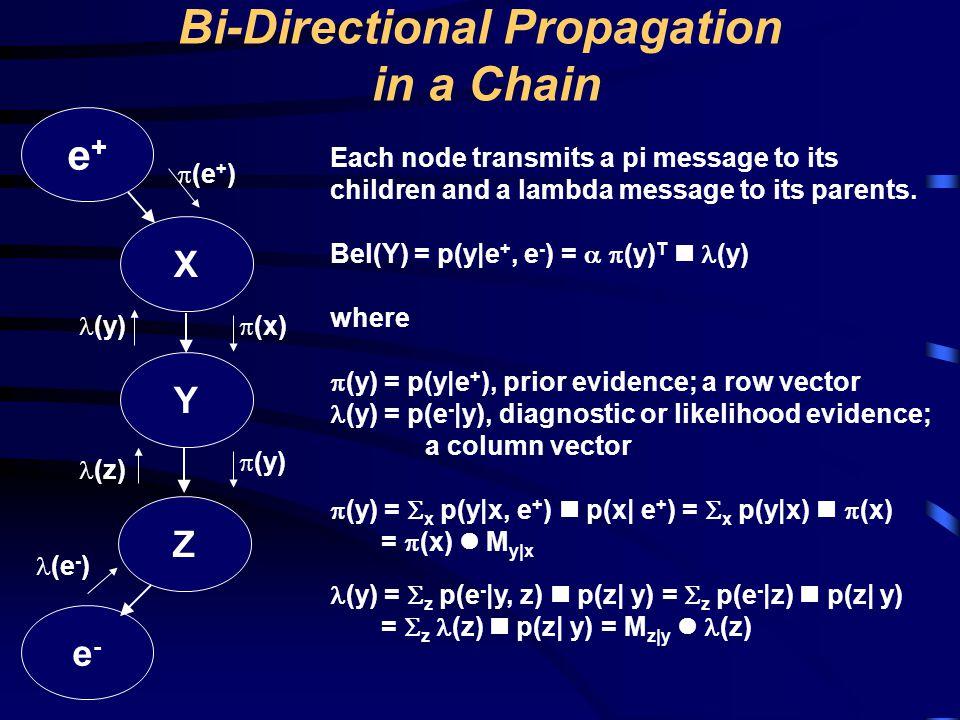 Bi-Directional Propagation in a Chain