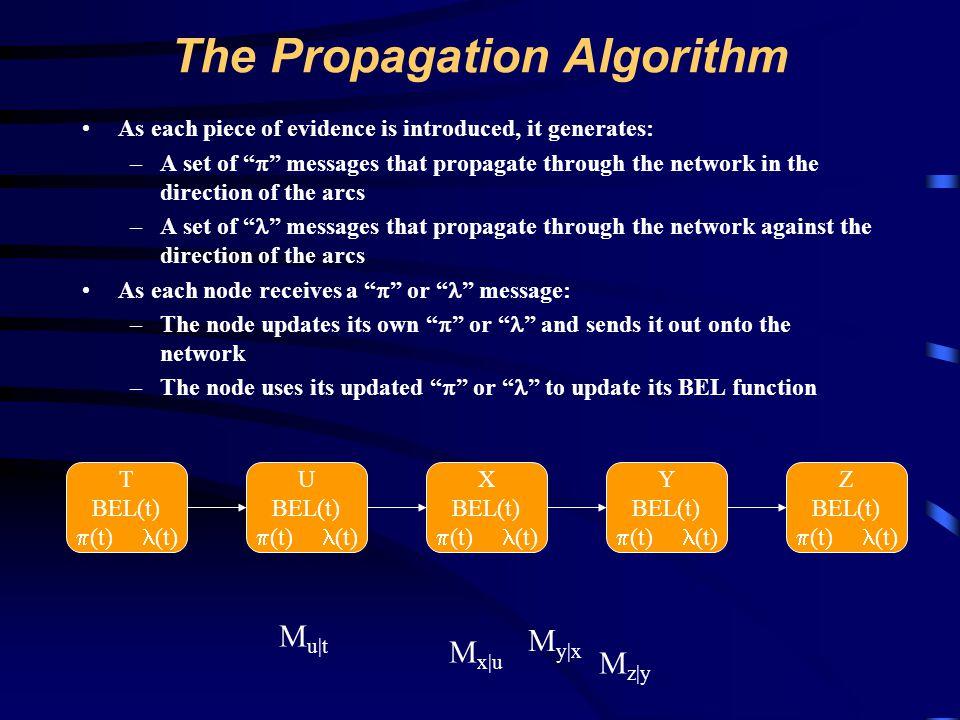 The Propagation Algorithm