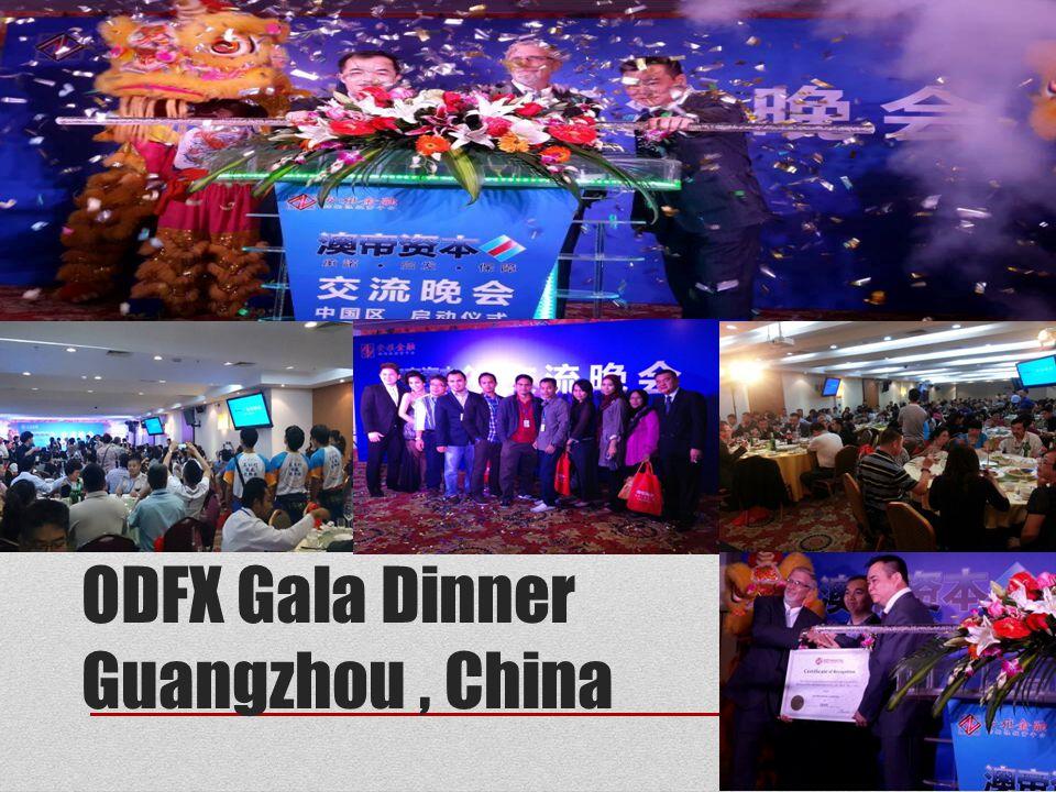 ODFX Gala Dinner Guangzhou , China
