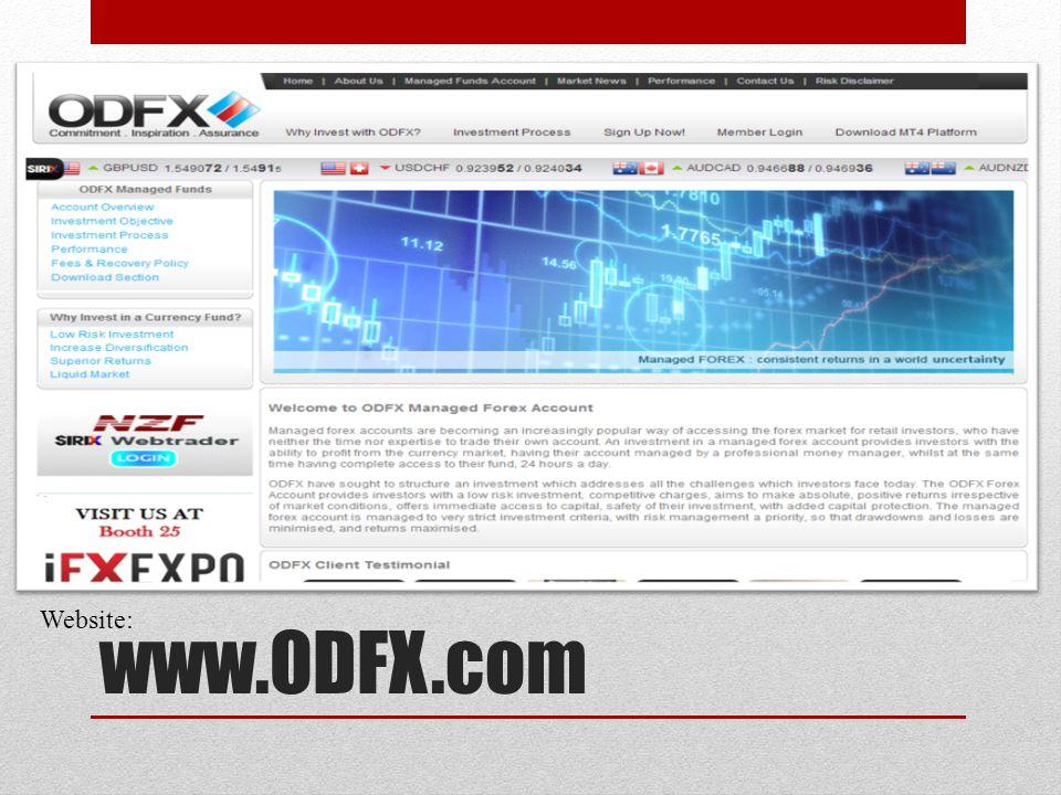 www.ODFX.com Website: