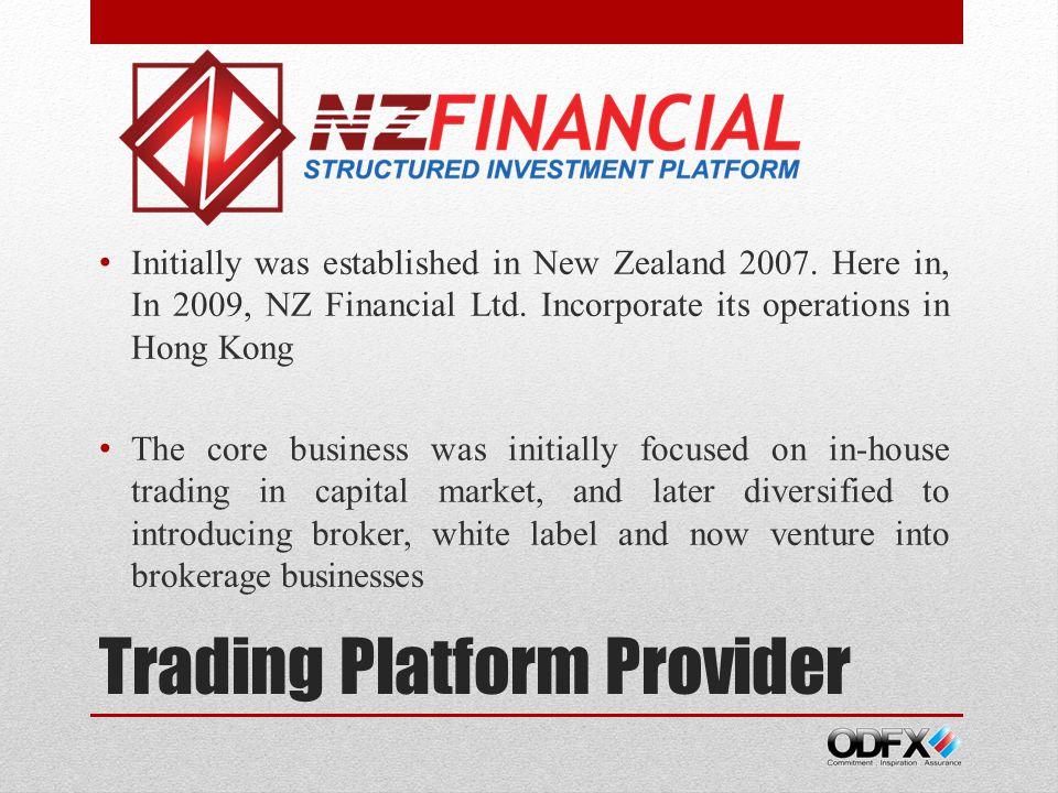 Trading Platform Provider