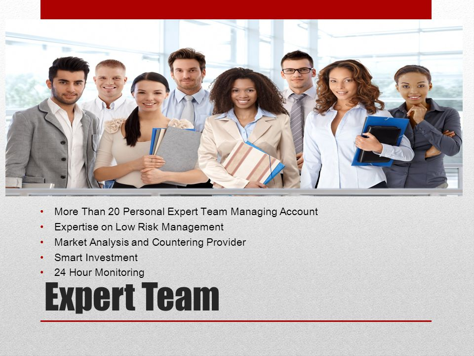 Expert Team More Than 20 Personal Expert Team Managing Account