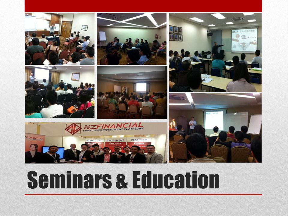 Seminars & Education