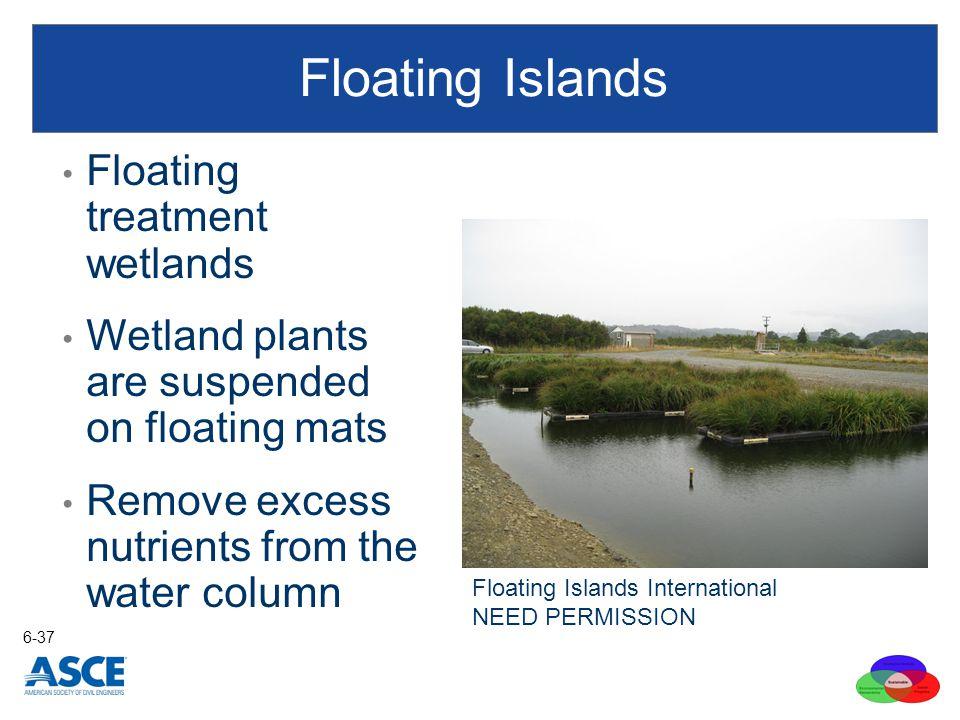 Floating Islands Floating treatment wetlands