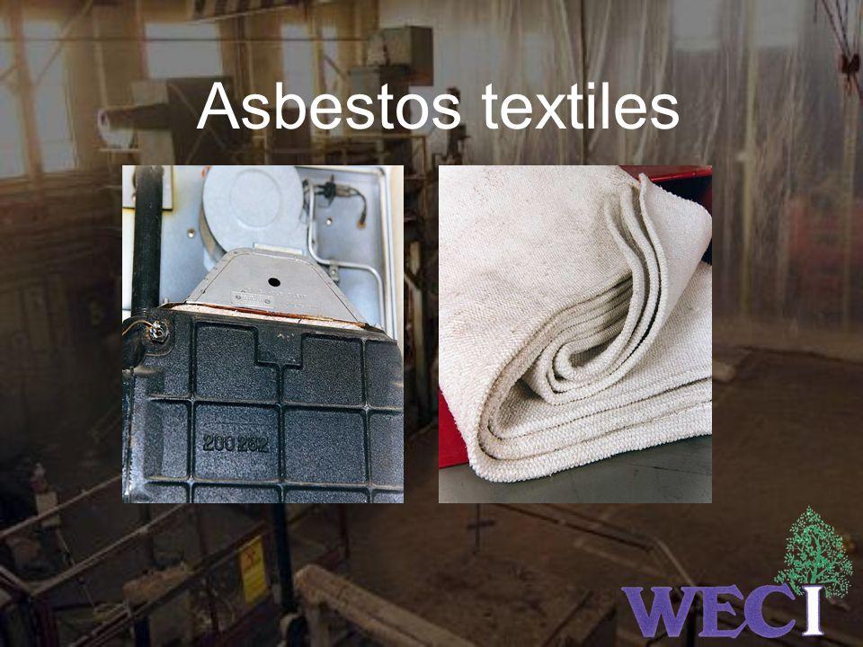 Asbestos textiles