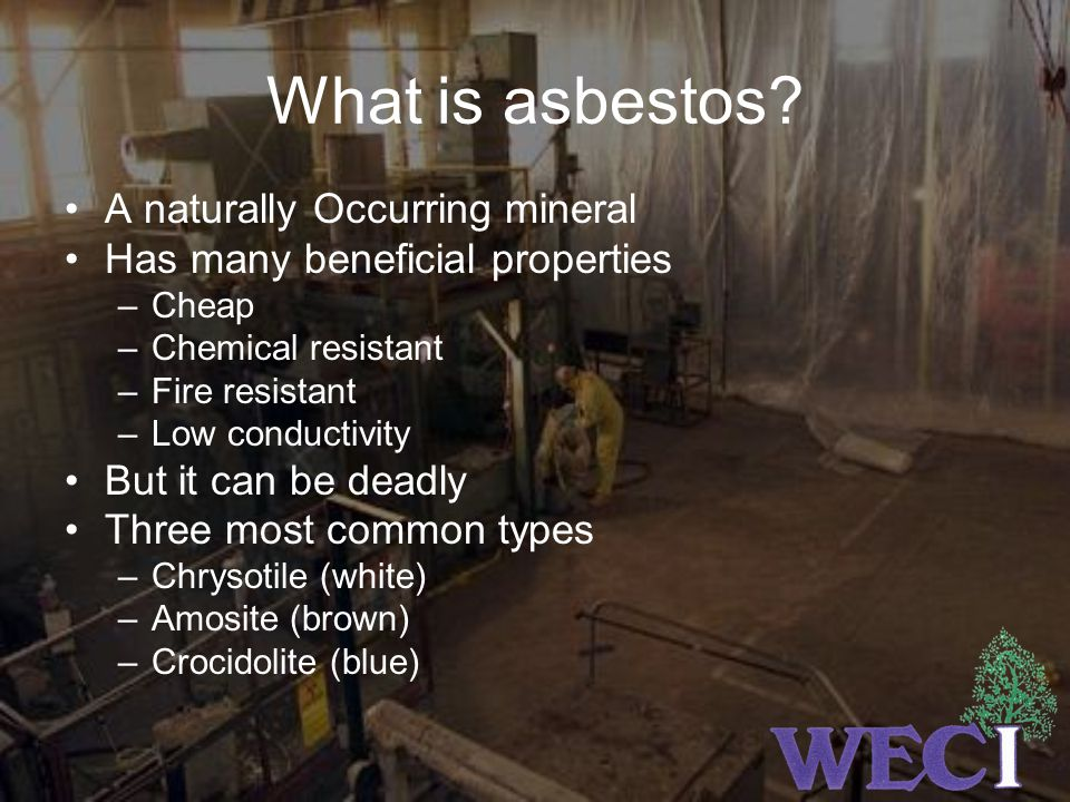What is asbestos A naturally Occurring mineral