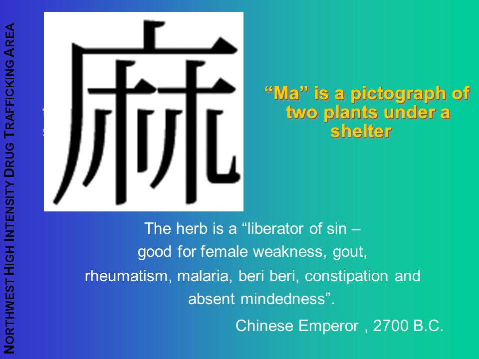 Ma is a pictograph of two two plants under a shelter shelter