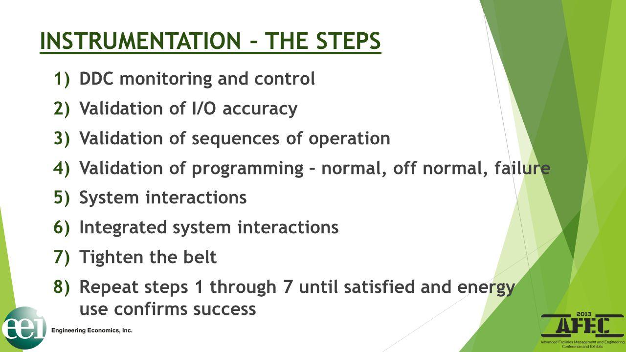 INSTRUMENTATION – THE STEPS
