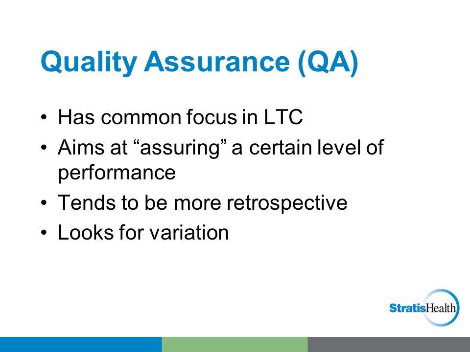 Quality/Performance Improvement (QI or PI)