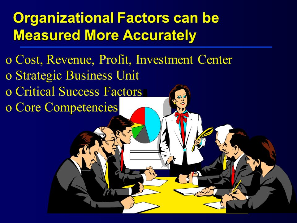Organizational Factors can be Measured More Accurately