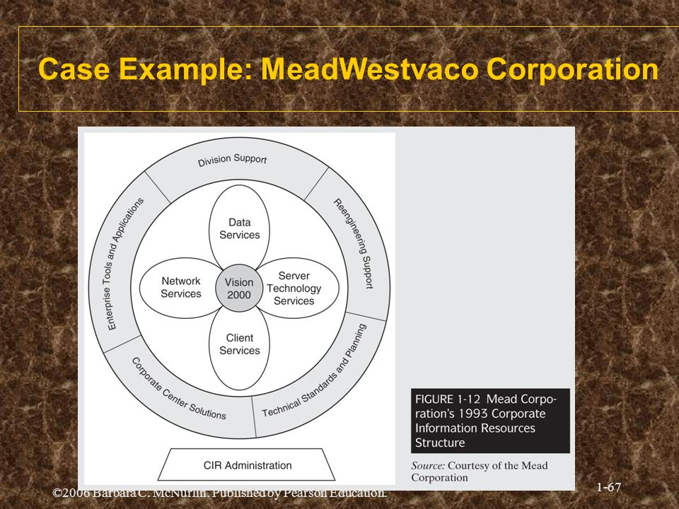 Case Example: MeadWestvaco Corporation