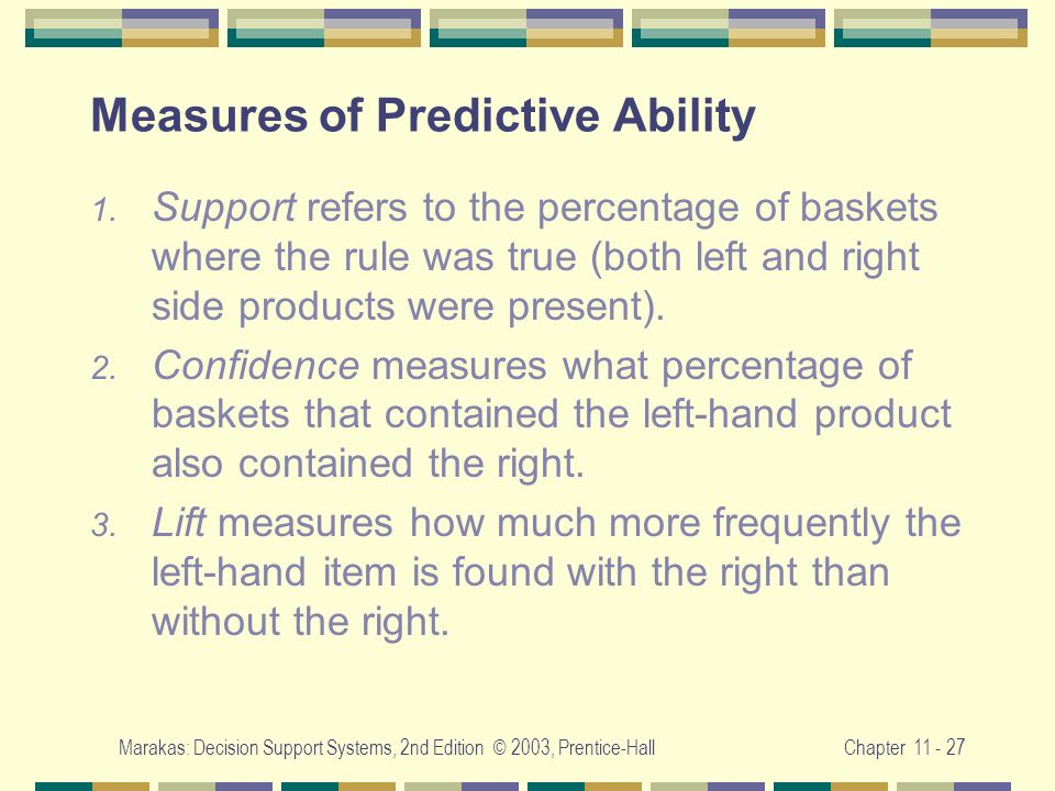 Measures of Predictive Ability