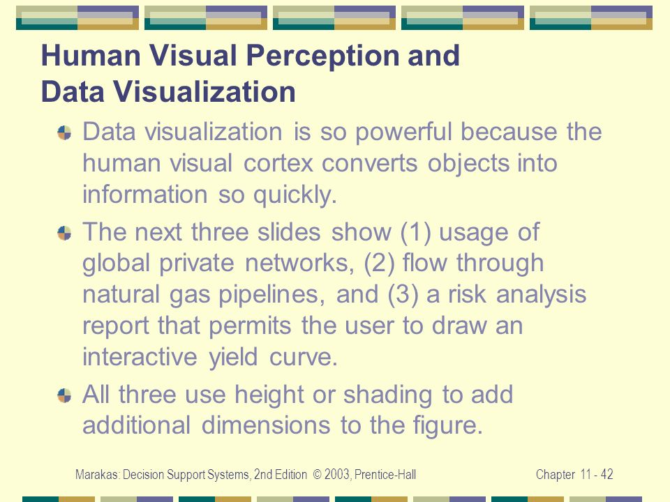 Human Visual Perception and Data Visualization