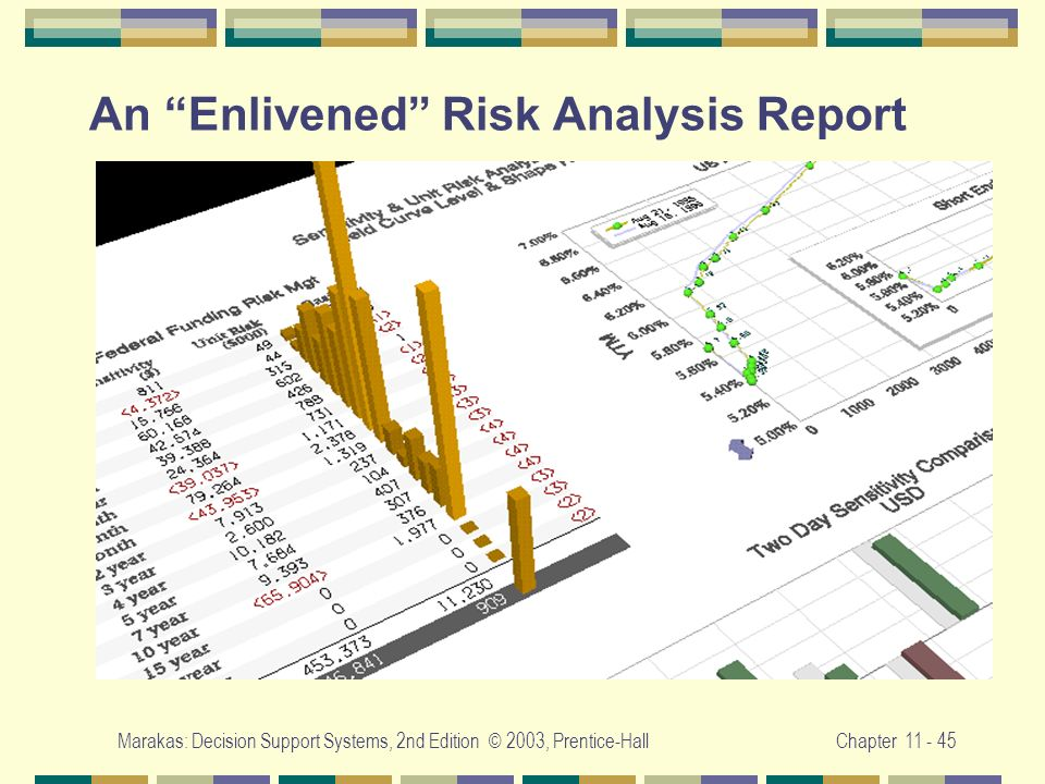 An Enlivened Risk Analysis Report