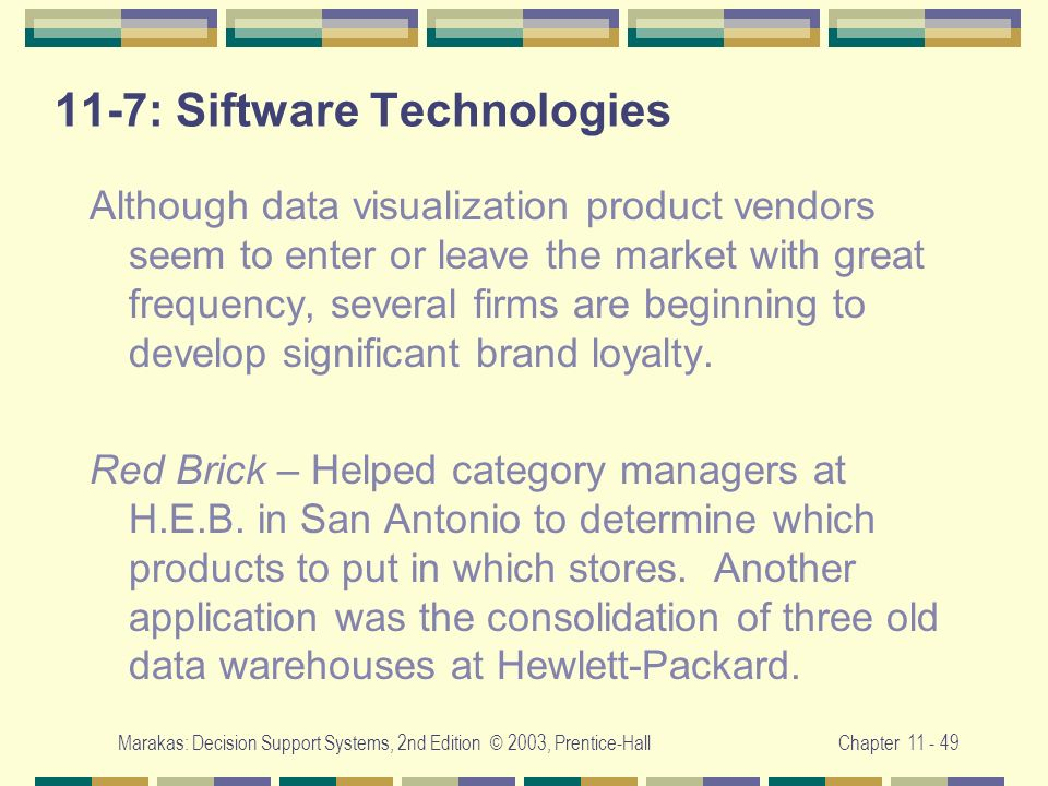 11-7: Siftware Technologies