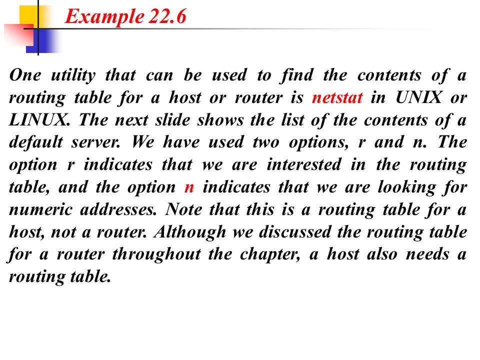 Example 22.6