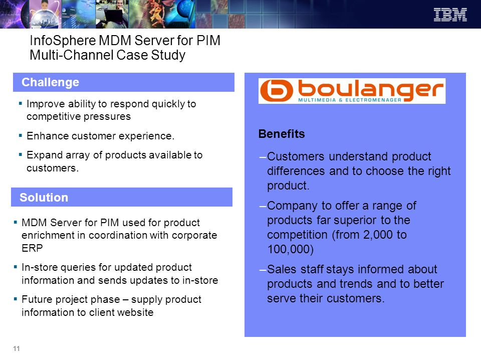 InfoSphere MDM Server for PIM Multi-Channel Case Study