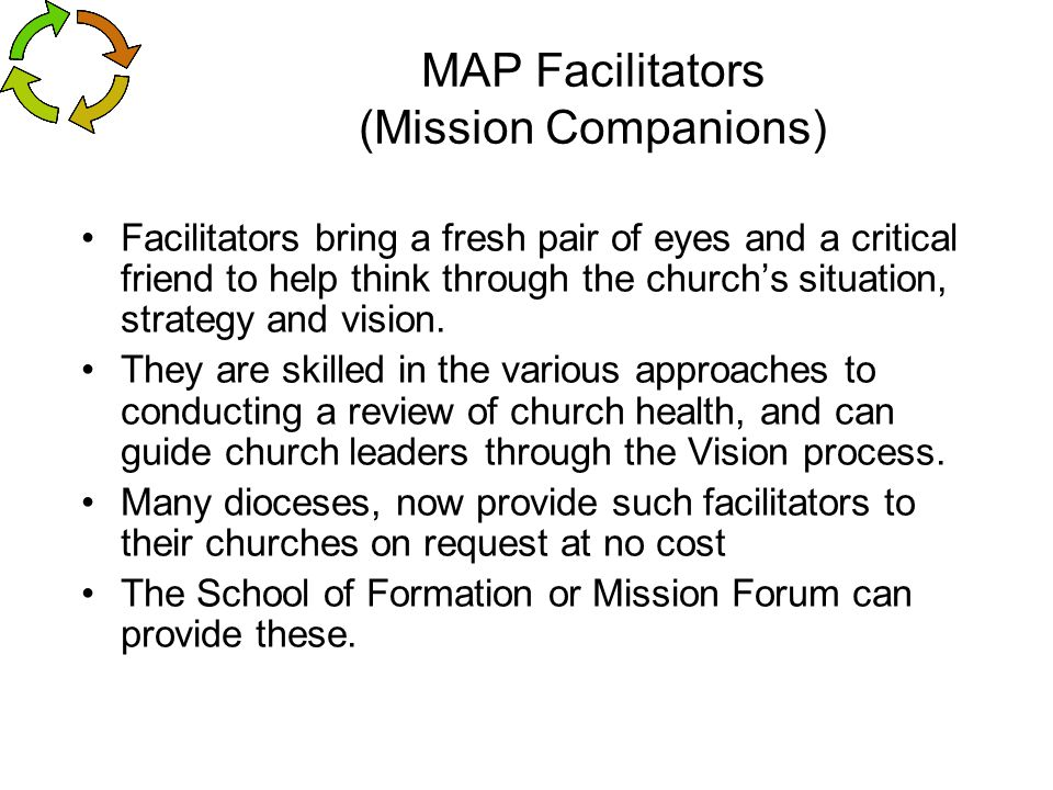 MAP Facilitators (Mission Companions)