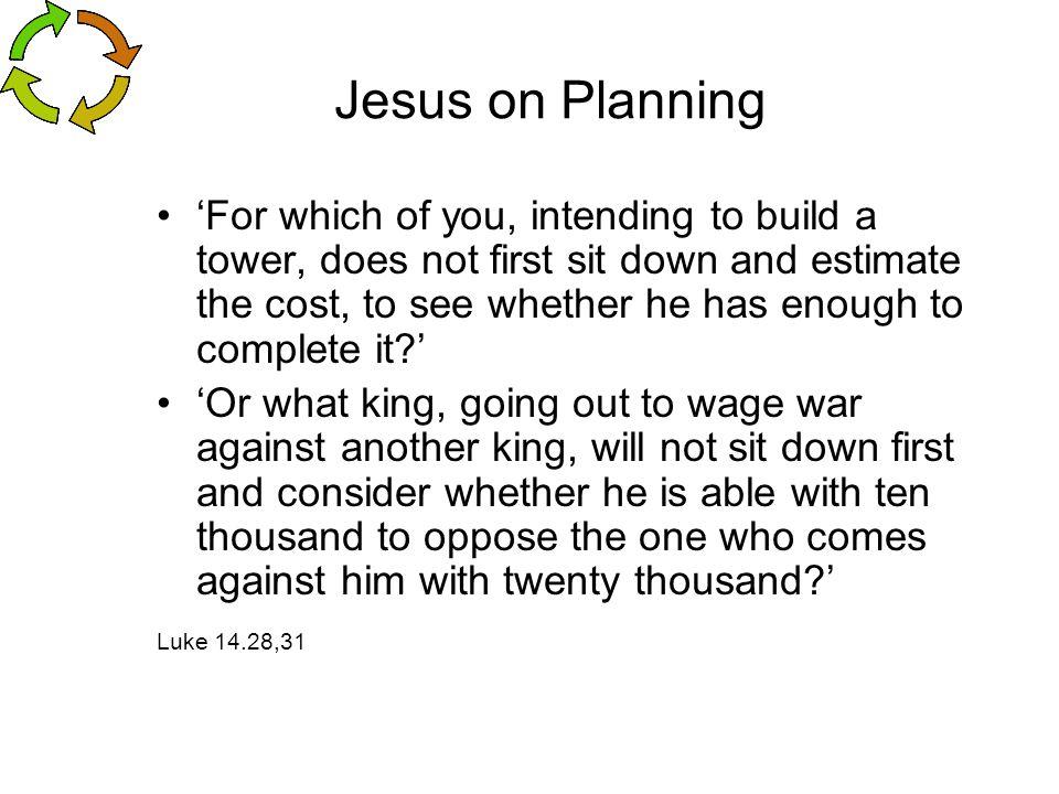 Jesus on Planning