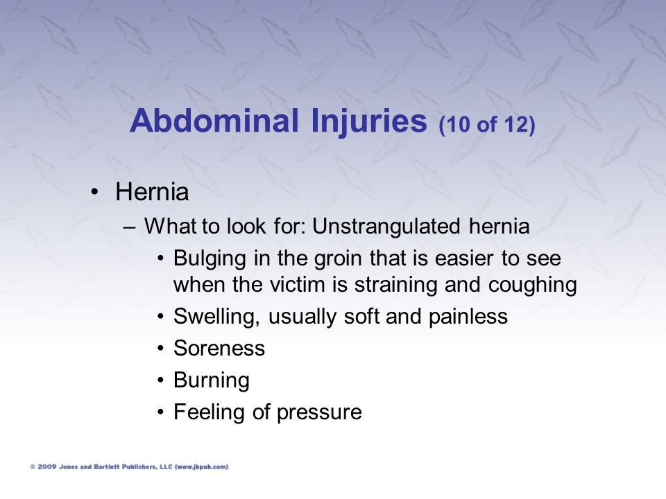 Abdominal Injuries (10 of 12)