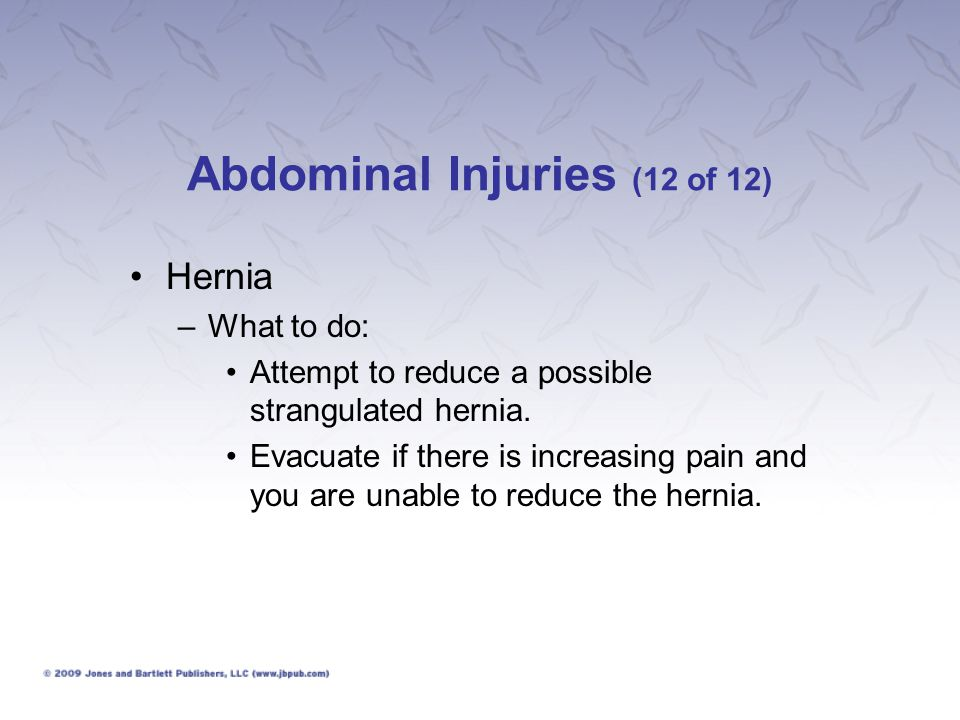Abdominal Injuries (12 of 12)
